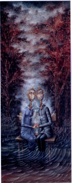 The Lovers (1963) Remedios Varo