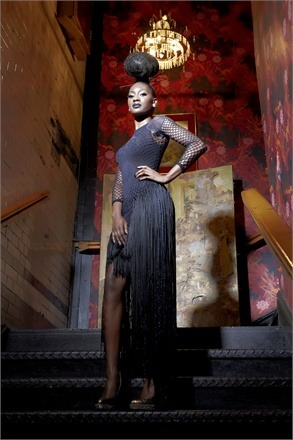afrochicgist:  Ghana Fashion & Design Week 2012Campaign: Licorice