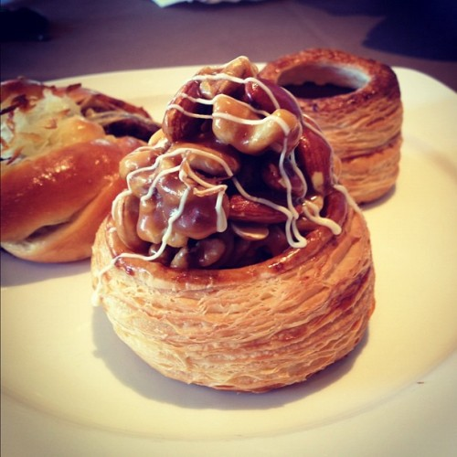 Mixed nuts croissant. #theloaf #langkawi #bakery (Taken with Instagram)