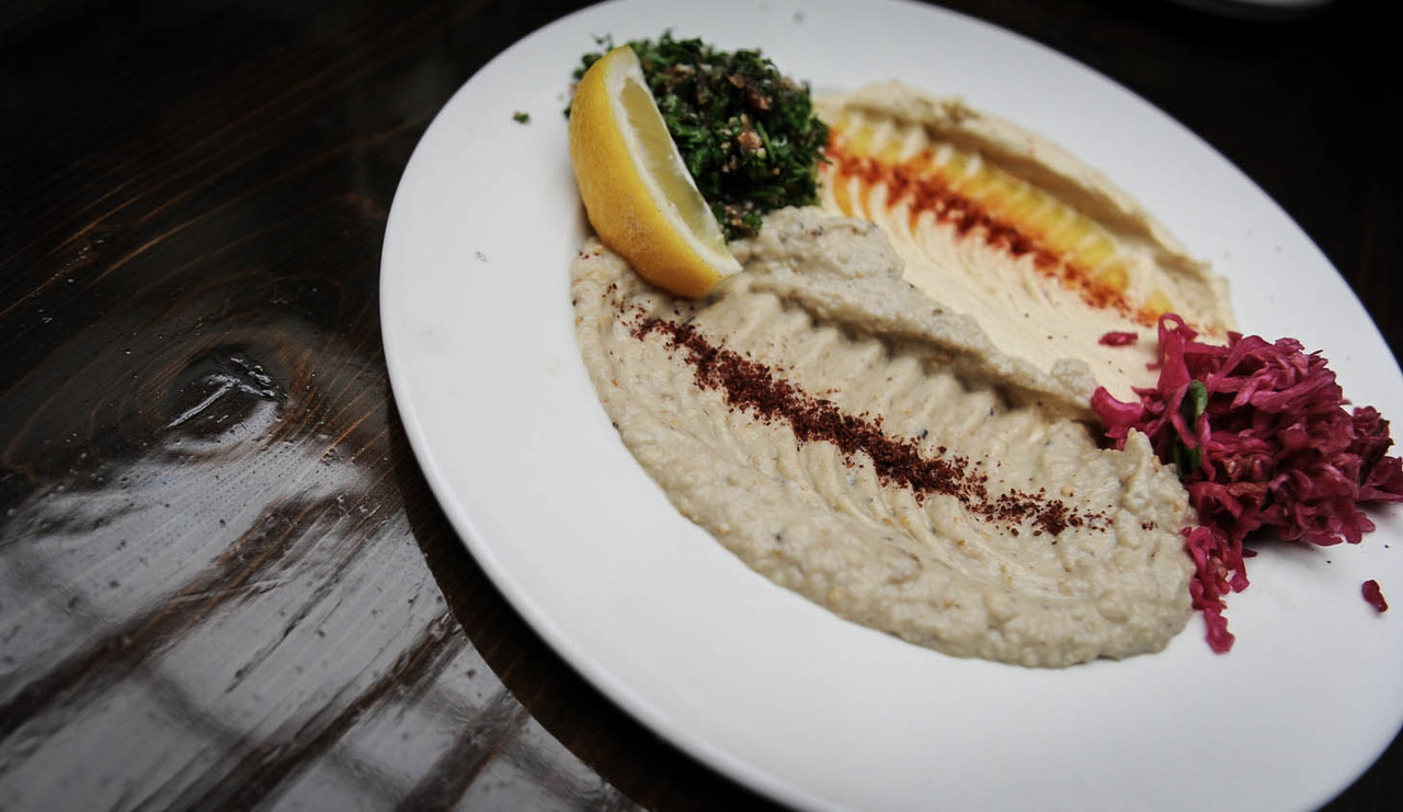 Lebanese Deliciousness:Hummus, Baba Ghanooj and Taboulleh