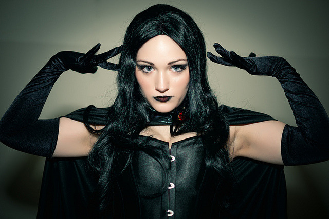 Black Queen Selene from X-Men - COMiCPALOOZA 2012 by Michael Shum on Flickr.Love this photo from Comicpalooza. Shoulda gone. Maybe next year.
