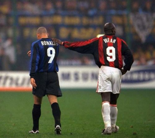Two of the best to grace the field of the Giuseppe Meazza. Is anyone else missing the Serie A season?
