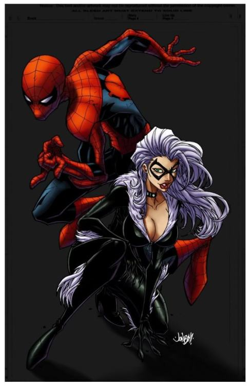 Spidey and Black Cat