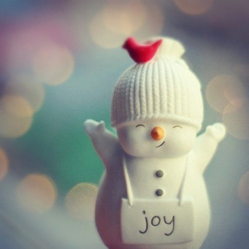 #christmas #snowman #lights #winter #joy #cute (Taken with Instagram)