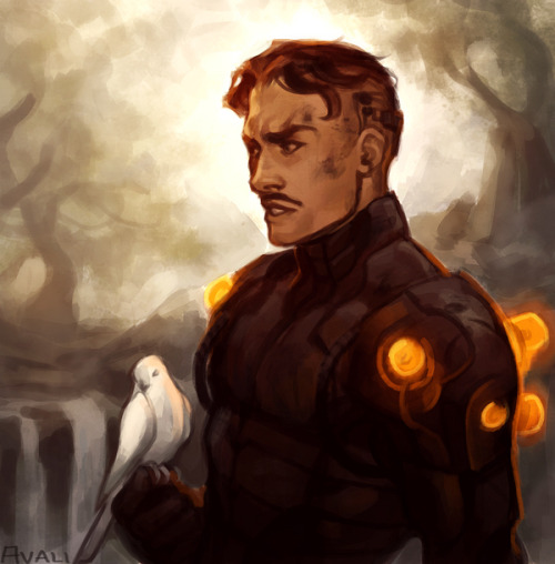 avali:  Nikola Tesla from Marvel's S.H.I.E.L.D. comic. I love him so mu-hu-huuuch. Thanks to everyone who came out for the Livestream!  Avali has been doing some wonderful S.H.I.E.L.D. related art lately so reblogging!