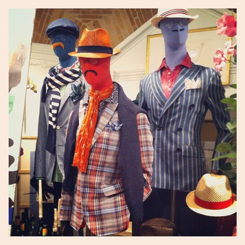 Hackett London at Pitti Uomo #Ss13 #menswear #pitti (Taken with Instagram)