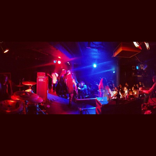 Backstage at underworld (Taken with Instagram)