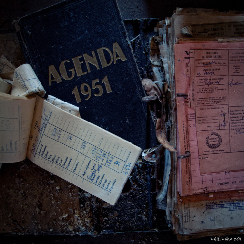 rusticmeetsvintage:  Agenda 1951 by zeitzahn, via Flickr