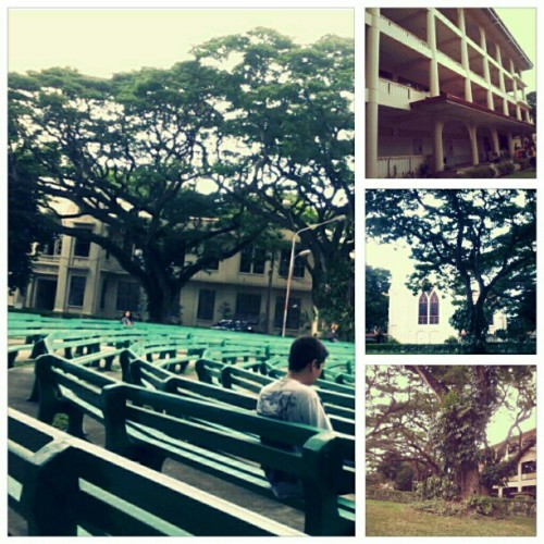 school..  #SillimanUniversity (Taken with Instagram)