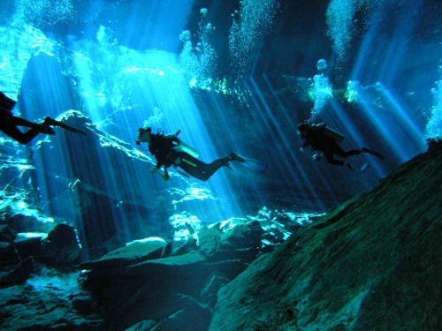 Cenote dive (via Graham Gibson)