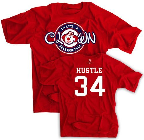 "If you're looking for a Bryce Harper-inspired ""Clown Question, Bro"" t-shirt, you have a couple of options."