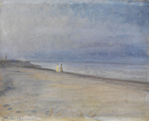 colourthysoul:  Michael Peter Ancher - Shoreline via ( semplicemente)