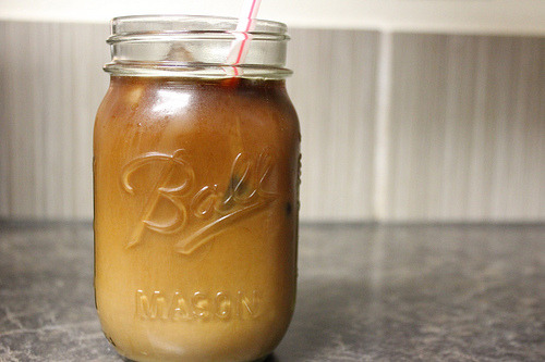 song-of-the-world:  my daily iced coffee porn…