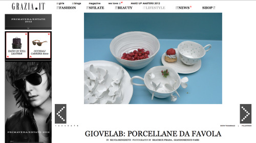 Giovelab on Grazia.it  Article by Silvia Benedetti