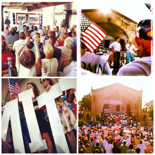 Mitt and crew rolled into Wisconsin and Iowa on day four of the Every Town Counts bus tour. http://mi.tt/Lw2H7B