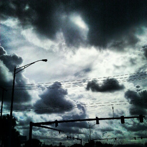 #sky #clouds  (Taken with Instagram)