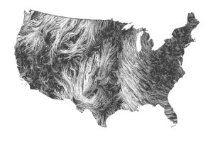 Cat Stevens listened to the wind this is way better utnereader:  Wind Maps — link to see wind patterns moving in real time.