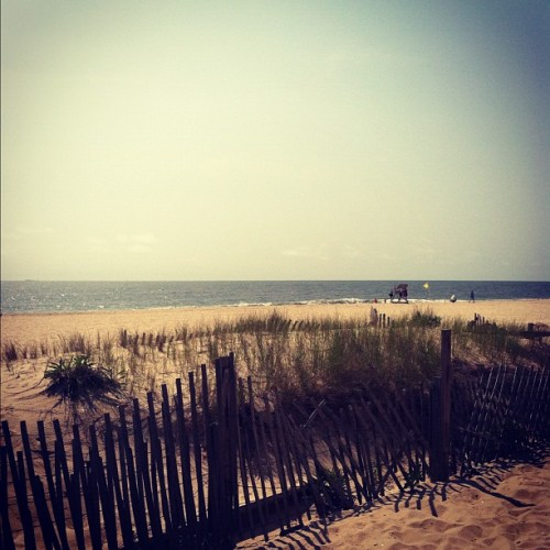 dastryoshka:  Finally! #beach #nj (Taken with Instagram at Point Pleasant Beach Boardwalk)