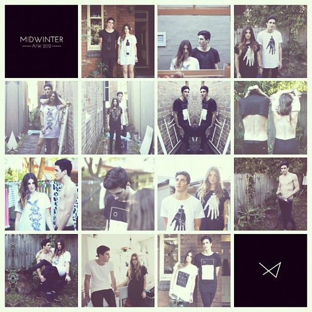 Midwinter A/W 2012 #lookbook #fashion #photography (Taken with Instagram)