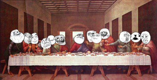 The Last Supper of Rage
