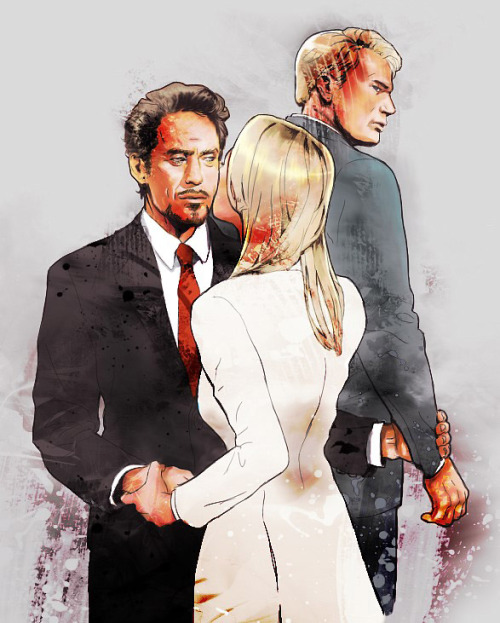 rogers-and-stark:  c0oma:  Tony Pepper Steve  Arms… God, I love this one ♥♥♥