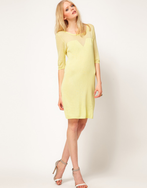 Dagmar Dress With Mesh Sleeve DetailMore photos & another fashion brands: bit.ly/JgQ93G