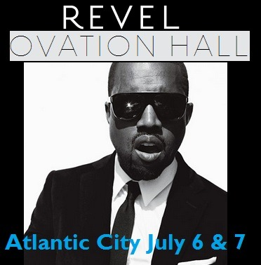Are there any Kanye West fans in the tri-state area? Kanye West is headlining two performances in Atlantic City New Jersey at the Revel Resort! Beyoncé just held a concert in the NEW Ovation Hall, and left the crowd in awe.  We are so excited to catch Kanye in New Jersey!