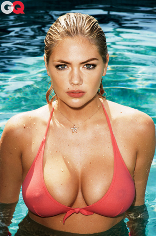 pussylequeer:  Kate Upton - GQ by Terry Richardson, July 2012