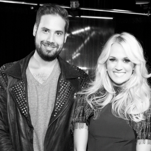 Carrie Underwood and I a few weeks ago.