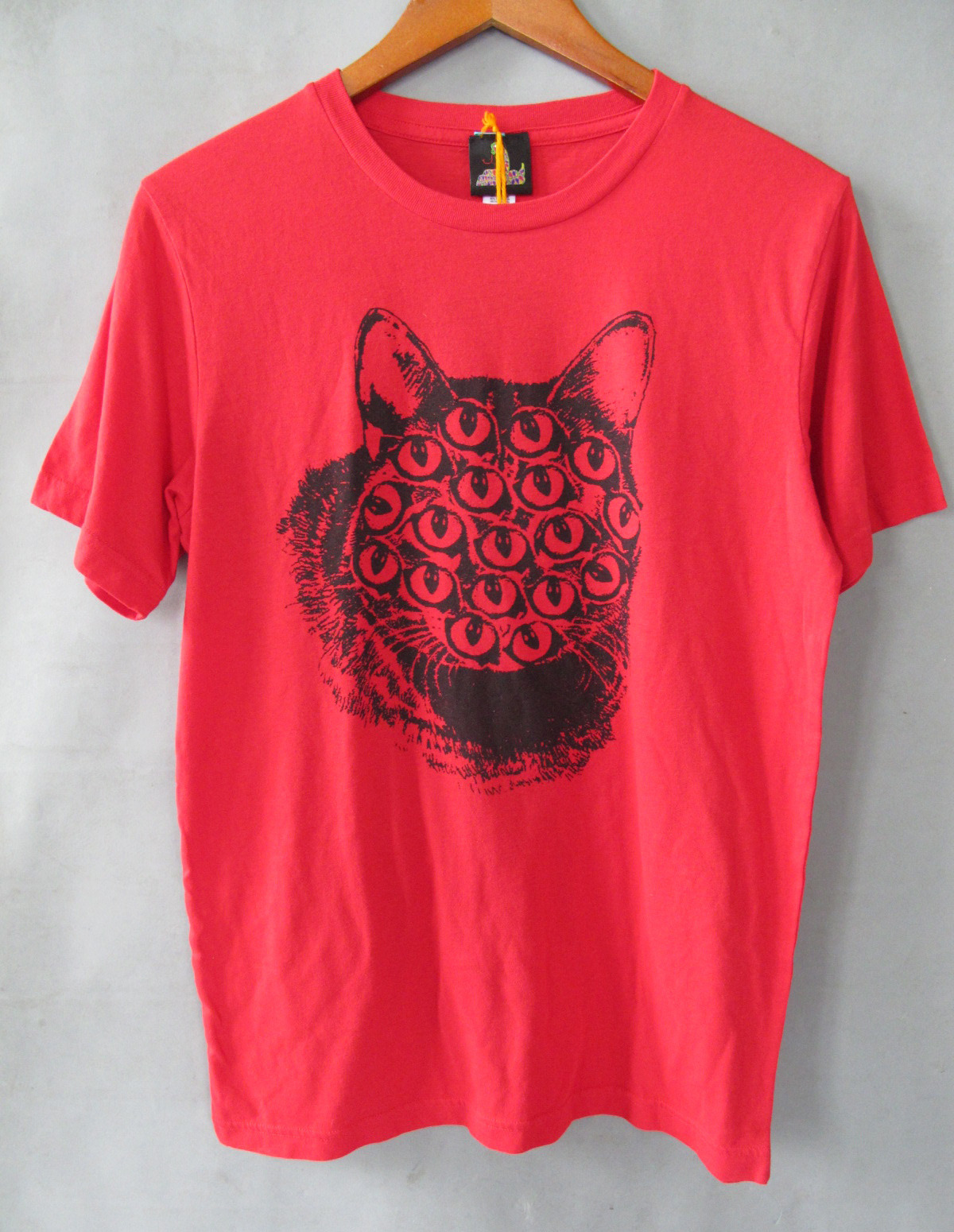 Guys Red Mutant Kitty Tee by Pretty Snake !!  http://www.etsy.com/shop/PrettySnake?ref=si_shop