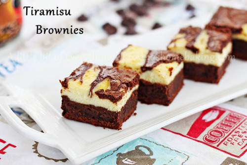 tiramisu brownies.