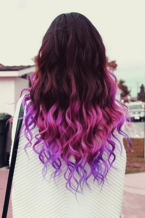 modesteden:  purple hair.