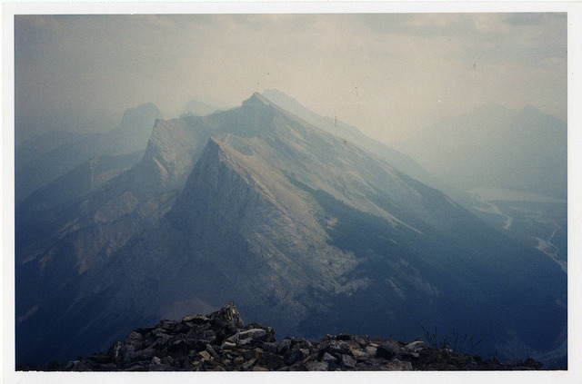 looking east from Rundles east ridge by process1 on Flickr.