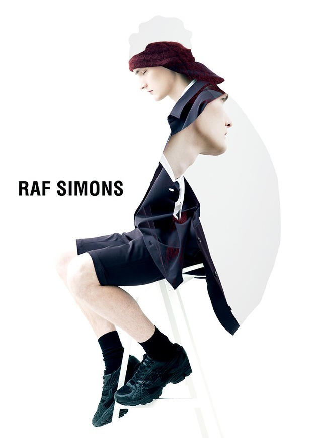 """Run Fall Run"" Raf Simons Fall-Winter 2012 Yannick Abrath by Pierre Debusschere"