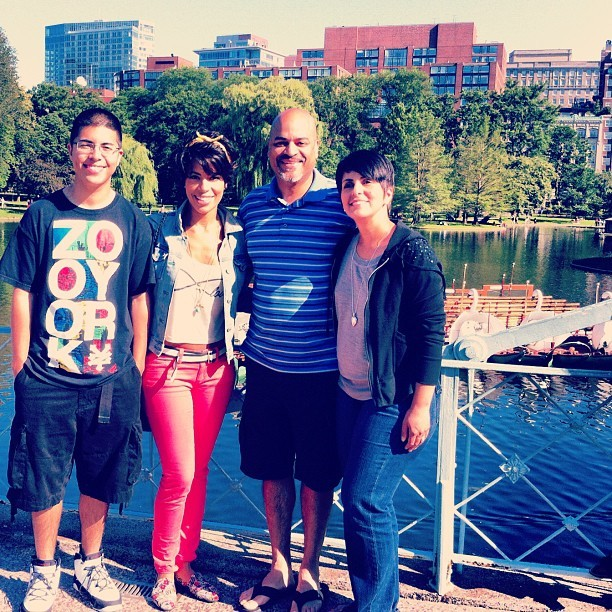 Family. 💛 (Taken with Instagram at The Swan Boats)