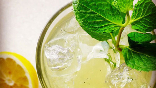 Mix things up with herbal lemonade. All you need is a little mint, rosemary, and thyme.   Herbal Lemonade | Beverage Recipes | PBS Food