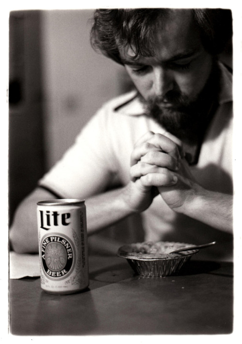 dadsaretheoriginalhipster:  Before there was top ramen a top ramen and PBR diet, your dad was on the pot pie and Miller Lite diet.