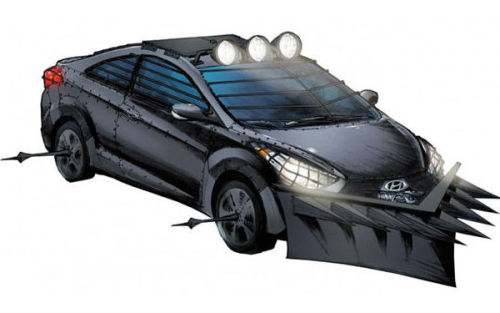 2013 Hyundai Elantra Coupe: zombie-proof edition