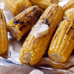 Daily Bite:Grilled Corn with Parmesan Butter