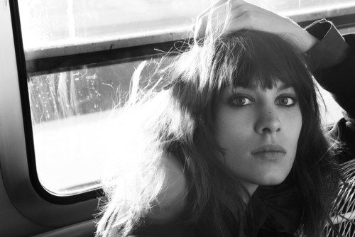 Alexa Chung's Maje, Fall 2012 Campaign. (photo via WWD.com) Click here for full details.