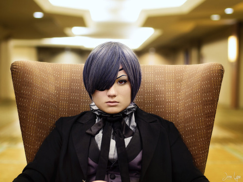 Taken at AM^2 2012. Ciel from Black Butler.  Cosplay by: http://ask-izaya-irl.tumblr.com/Click for High-Res See this and more at my Facebook page: http://facebook.com/sntp.m43