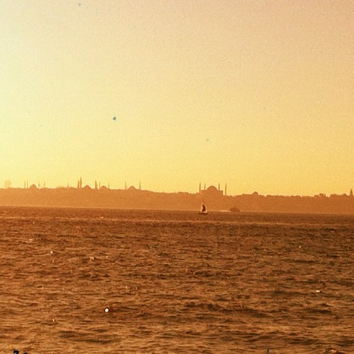 My beautiful #city #istanbul #turkey (Taken with Instagram at Galatasaray Kalamış Tesisleri)