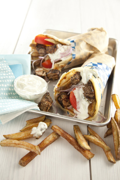 Pork Belly Gyros