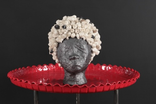 Simone Leigh Head on a Platter, 2009
