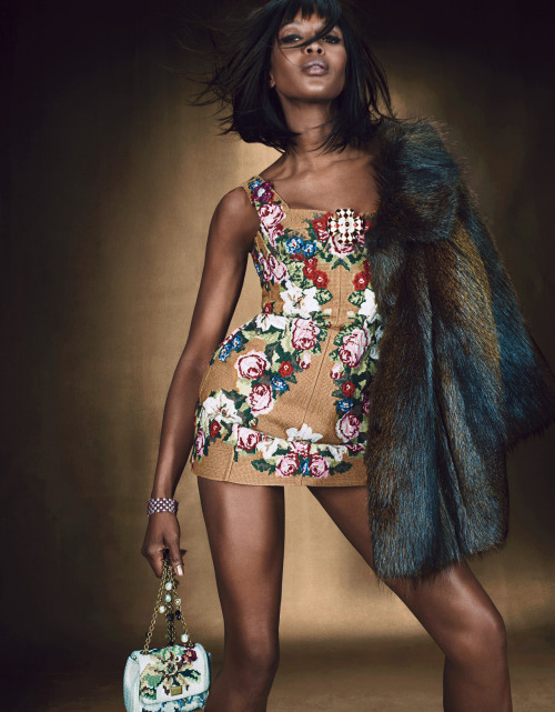 wmagazine:  Photo by Emma Summerton Oh Naomi, you give us full on sass-attack and we just can't get enough. Ladies and gentleman, the incomparable Naomi Campbell.  Naomi body rock