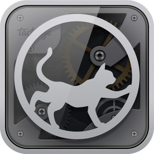 Official Tactilize iPad App Icon, by Stephane Reverdy, aka Areskub /-) => See all the set on Facebook /and the Dribble page