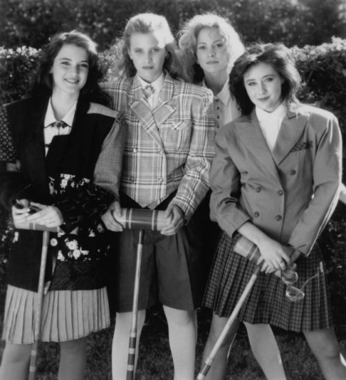 modcloth:  Plaid blazer inspiration courtesy of Heathers. via IMDB.