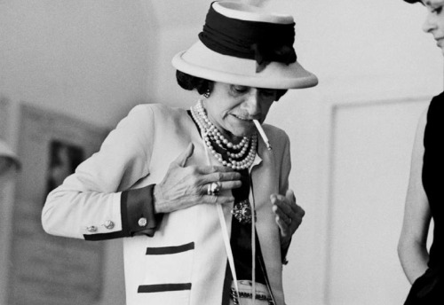 """Hard times arouse an instinctive desire for authenticity.""  - Coco Chanel"