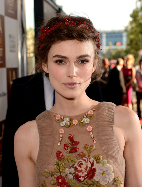 suicideblonde:  Keira Knightley (in Valentino) at the LA premiere of Seeking a Friend at the End of the World, June 18th