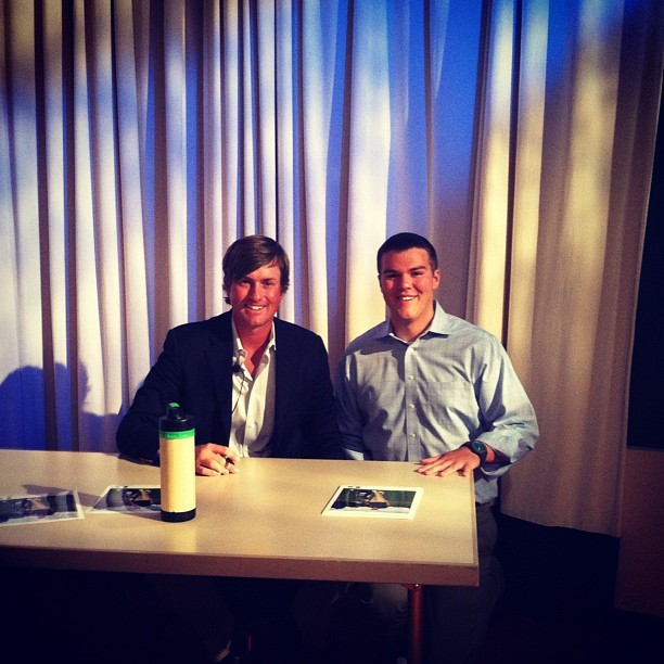 Me and @webbsimpson1, #USOpen champ! (Taken with Instagram at GE Headquarters)